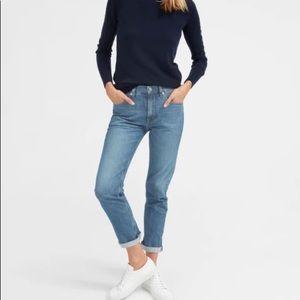 EVERLANE modern boyfriend jeans size 32